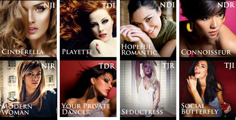 Pandoras box 8 personality types